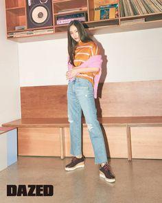 Krystal Fx, Jessica & Krystal, Amber Instagram, Krystal Jung Fashion, Tiffany Girls, Bts Girl, Ulzzang Fashion, Korea Fashion, Korean Model