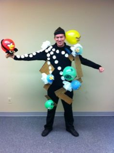 Angry Birds- funny costume and fairly simple!