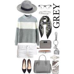 """""""Grey"""" by irina-ny on Polyvore"""