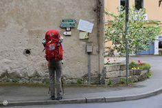 Malerweg – 1. Etappe – Wir-zwei-beide Europa Camping, Richard Wagner, Beide, Golf Bags, Superhero, Fictional Characters, Art, Small Places, Hiking