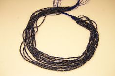 1strand  natural sodalite plain ball sized 2mm by 3yes on Etsy