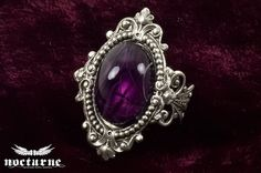 Gothic Ring Neo Victorian Steampunk Lolita by NocturneHandcrafts, $35.00