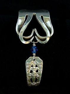 Cross pendant Cross necklace Cooper cross Antique copper Handmade jewelry Gifts for her Gemstone jewelry - Custom Jewelry Ideas Fork Jewelry, Pendant Jewelry, Gemstone Jewelry, Beaded Jewelry, Handmade Jewelry, Jewellery Diy, Silverware Jewelry, Recycled Silverware, Spoon Bracelet