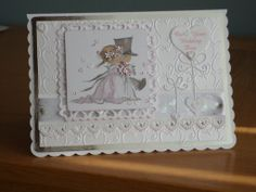 Lili of the valley wedding card