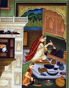 Art of Legend India: Art, Paintings, Handicrafts, Jewelry, Beads, Handmade Items: Kangra paintings - Painting art of Kangra valley