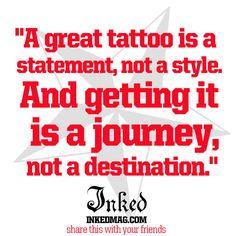 Journey Not Destination : Inked Magazine
