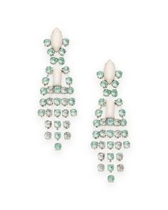 The Crystal Reign Earrings by JewelMint.com, $29.99