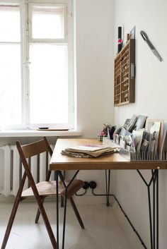 Design*Sponge Sneak Peek // desk organization