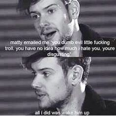 Matty is a meany hahahahaha