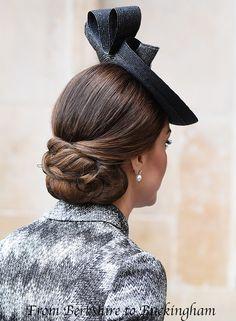 05.04.2017 Księżna Kate w Westminster Abbey dla Służby Nadziei