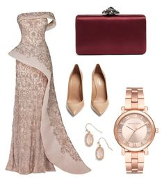 """Brave"" by nadoushi on Polyvore featuring Maison Yeya, Yves Saint Laurent, Nordstrom, Kendra Scott and Michael Kors"