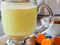 Raw turmeric milk
