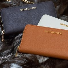 1049bec87a39 Michael Kors Saffiano Continental Large Black Wallets Is The Most Famous  Product