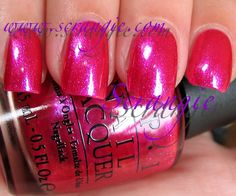 **OPI - Be A Dahlia, Won't You? (Nice Stems! Collection Summer 2011) / Scrangie