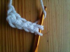 Trendiger Loop-Schal - sieht aus wie gestrickt - Wenn ihr auch so einen Schal machen wollt benötigt ihr etwa 100g- 150g Wolle ( ...