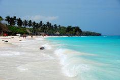 Playa Blanca on la Isla de Baru !