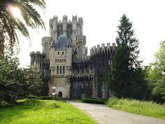 Castillo de Butrón, Gatika, España