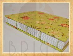 Handmade book / bookbinding - Livro Copta (Copta book) - Handbound book - Handbound Journal