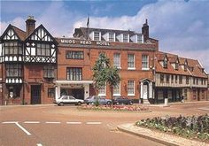 Maid's Head Hotel, Tombland, Norwich.  Stayed here on my last trip to Norwich in 1996.