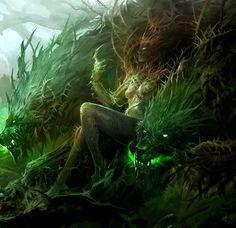 Forest Queen (GW2 Concept Art)