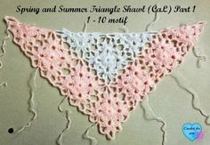 Part 1 - Spring and Summer Triangle Shawl (CAL) 2015