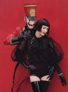 Marion Cotillard on W - Red Hot