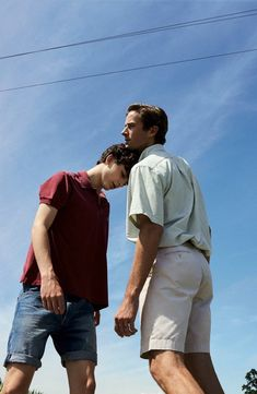 Timothee Chalamet and Armie Hammer in Call Me By Your Name (Luca Guadagnino, Armie Hammer, Gay Couple, Your Name Movie, Gay Romance, Romance Film, Call Me By, Name Canvas, Timmy T, Drarry