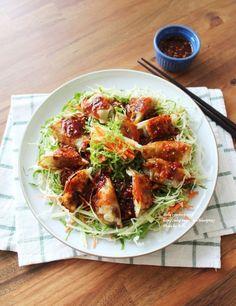 Korean Dishes, Korean Food, I Want Food, K Food, Asian Recipes, Ethnic Recipes, Nom Nom, Cabbage, Spaghetti