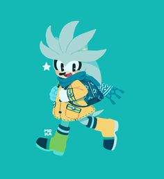 Sonic The Hedgehog, Silver The Hedgehog, Sonic Fan Characters, Fictional Characters, Sonic Mania, Anime Undertale, Sonic Fan Art, 2d Character, Freelance Illustrator