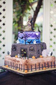 La rédac' de Mariage.com passe en mode Halloween ! Et vous les filles ? Des envies de futures mariées terrifiques ? Wedding cake affreusement...