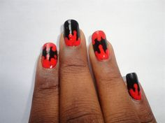 Bloody nails - Nail Art Gallery by NAILS Magazine