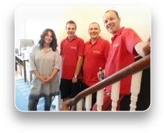He Van Removals Brighton, Happy customer & happy staff... Just the way we like it!
