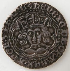 Medieval Art — Groat of Henry VI, Medieval Art Gift of Assunta. Old British Coins, Wars Of The Roses, Gold And Silver Coins, Antique Coins, World Coins, Medieval Art, Rare Coins, Coin Collecting, Ancient Art