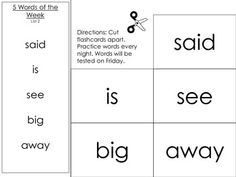 Kindergarten students will learn the first 40 sight words with this unit. It uses different activities to teach 5 sight words a week. These activit...