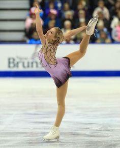 Gracie Gold, 2013 Skate Canada, Purple Figure Skating / Ice Skating dress inspiration for Sk8 Gr8 Designs.