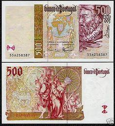 Portugal 500 Escudos 1997 - Pick 187b