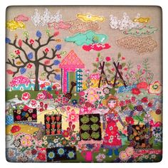 Appliqué picture by lucy levenson designs