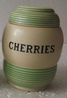 T.G. Green 'Streamline' Cherries jar