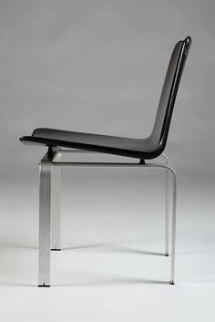 Set of dining chairs designed by Jörgen Höj for Johannes Hansen, Denmark. 1962. — Modernity