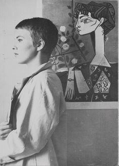 Jean Seberg, 1961.