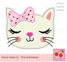 Cat Applique, Machine Embroidery Applique, Creeper Minecraft, Cat Machines, Cat Quilt, Rock Crafts, Applique Designs, Free Coloring, Cute Drawings