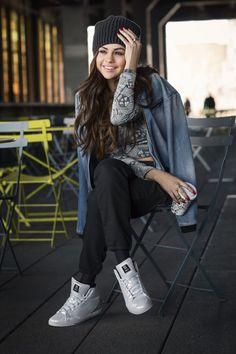 2313fb7e10e4 Selena Gomez stars for the Adidas NEO Fall Winter 2014 Campaign