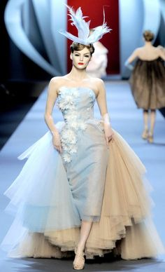 Dior WOW!!!  That dress without the Train would be AMAZING in my closet... lol