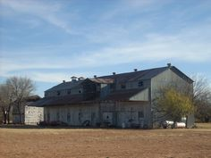 Old Cotton Gin, Spur Tx
