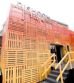 Pop Up Shop Design / Retail Design / Semi Permanent Retail Fixtures / VM / Retail Display / Dishoom Chowpatty Beach Pop-Up | Southbank, London