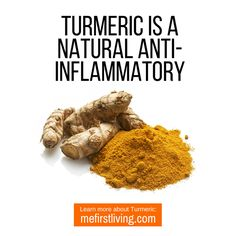 is a potent natural anti-inflammatory. If you want a natural solution to joint pain think about giving turmeric a try! Turmeric For Inflammation, Turmeric Curcumin, Organic Turmeric, Natural Solutions, Gluten Free, Vegan, Glutenfree, Sin Gluten, Grain Free