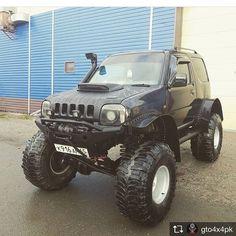 """Mi piace"": 122, commenti: 2 - Jimny (@jimneiro) su Instagram Jimny 4x4, Jimny Sierra, Jimny Suzuki, Kei Car, Custom Jeep, Cars And Motorcycles, Offroad, Samurai, Automobile"