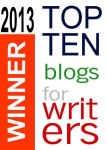 2013 top 10 blogs for writers