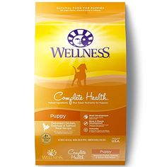 Wellness Complete Health Natural Dry Puppy Food Chicken Salmon  Oatmeal 15Pound Bag * Learn more by visiting the image link. (This is an affiliate link)