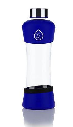 EQUA Active Blue 0.55 l - skleněná láhev na pití (1)